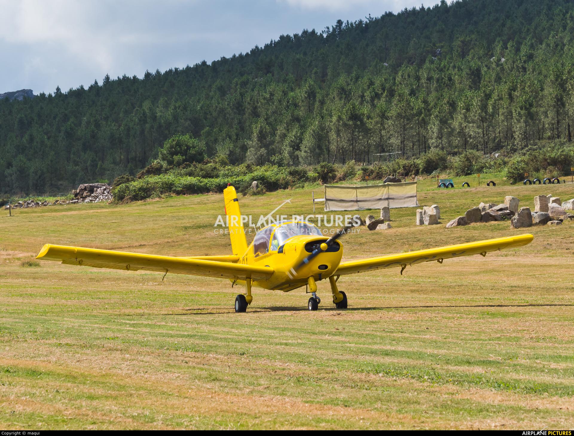 Real Aero Club de La Coruña EC-CLY aircraft at Aerodromo De Mazaricos