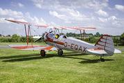 D-EQAX - Private Focke-Wulf Fw.44J Stieglitz aircraft