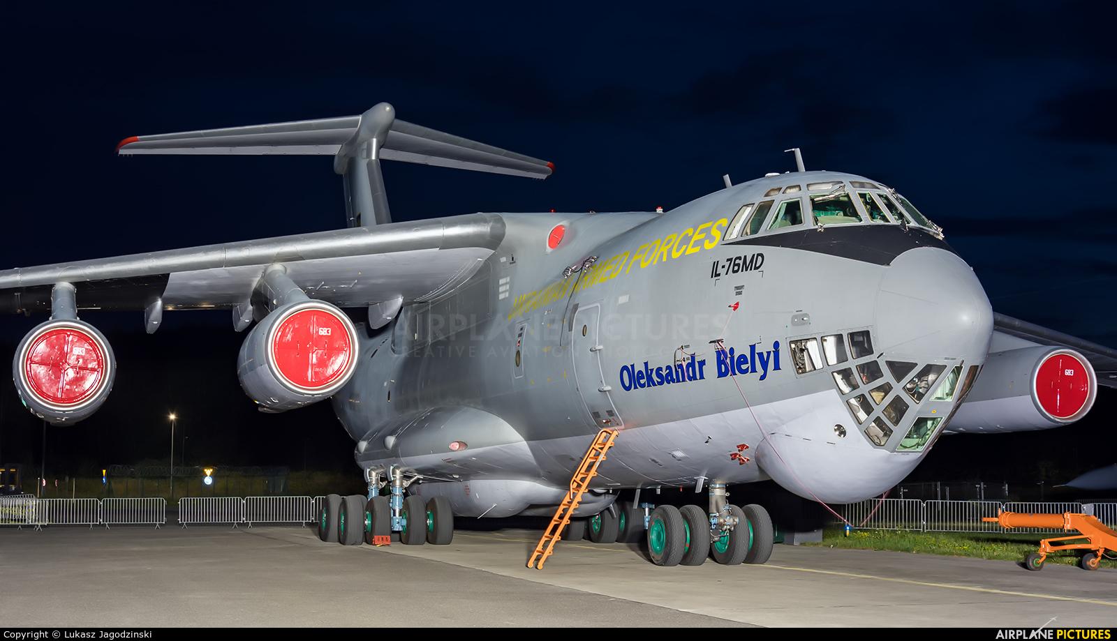 Ukraine - Air Force 76683 aircraft at Gdynia- Babie Doły (Oksywie)