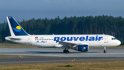 TS-INU - Nouvelair Airbus A320