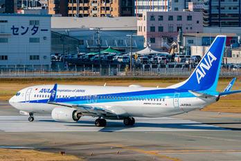 JA89AN - ANA - All Nippon Airways Boeing 737-8AL(WL)