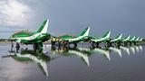 Saudi Arabia - Air Force: Saudi Hawks British Aerospace Hawk 65 / 65A 8817 at Gdynia- Babie Doły (Oksywie) airport