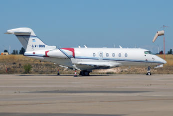 LV-BSS - Private Bombardier BD-100 Challenger 300 series