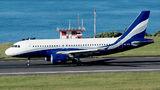 Hi Fly Malta Airbus A319 9H-XFW at Azores - Ponta Delgada airport