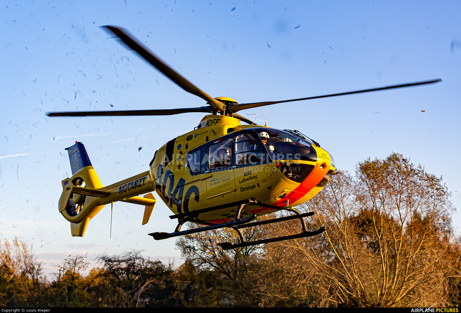 ADAC Luftrettung D-HOFF aircraft at Off Airport - Germany