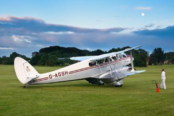 G-AGSH - Private de Havilland DH. 89 Dragon Rapide