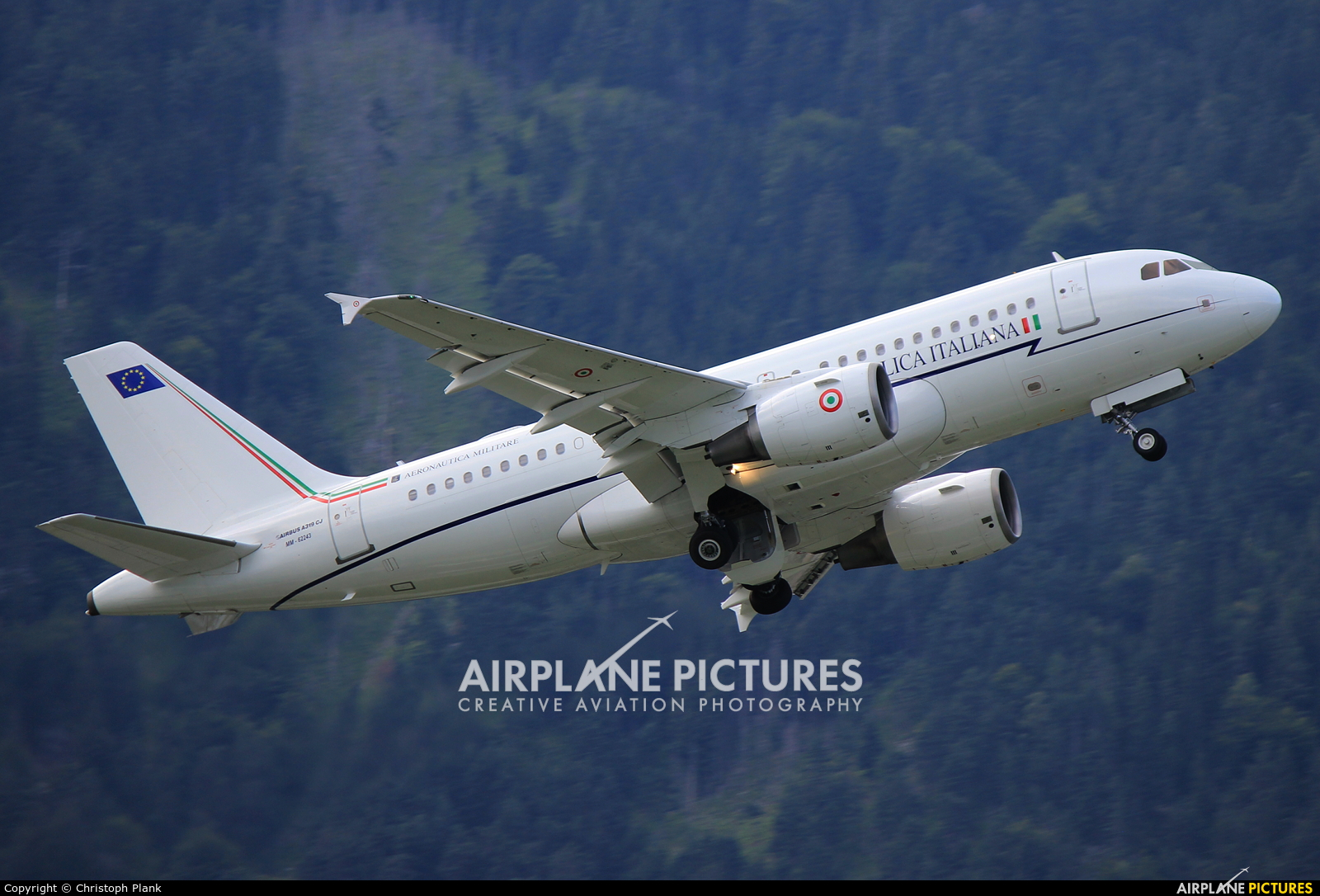 Italy - Air Force MM62243 aircraft at Innsbruck