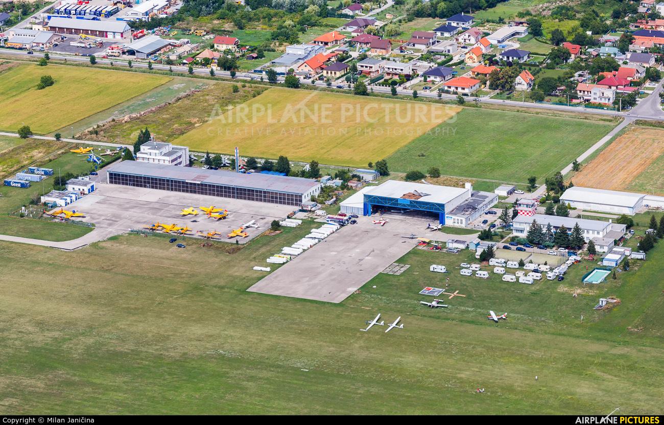 - Airport Overview - aircraft at Nitra