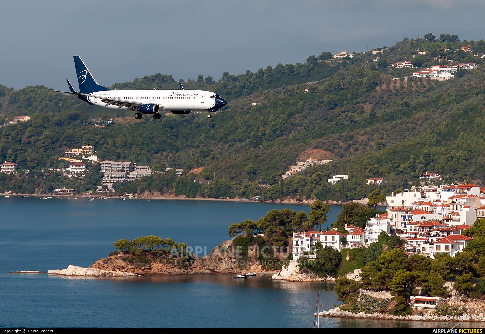 Blue Panorama Airlines 9H-FSJ aircraft at Skiathos