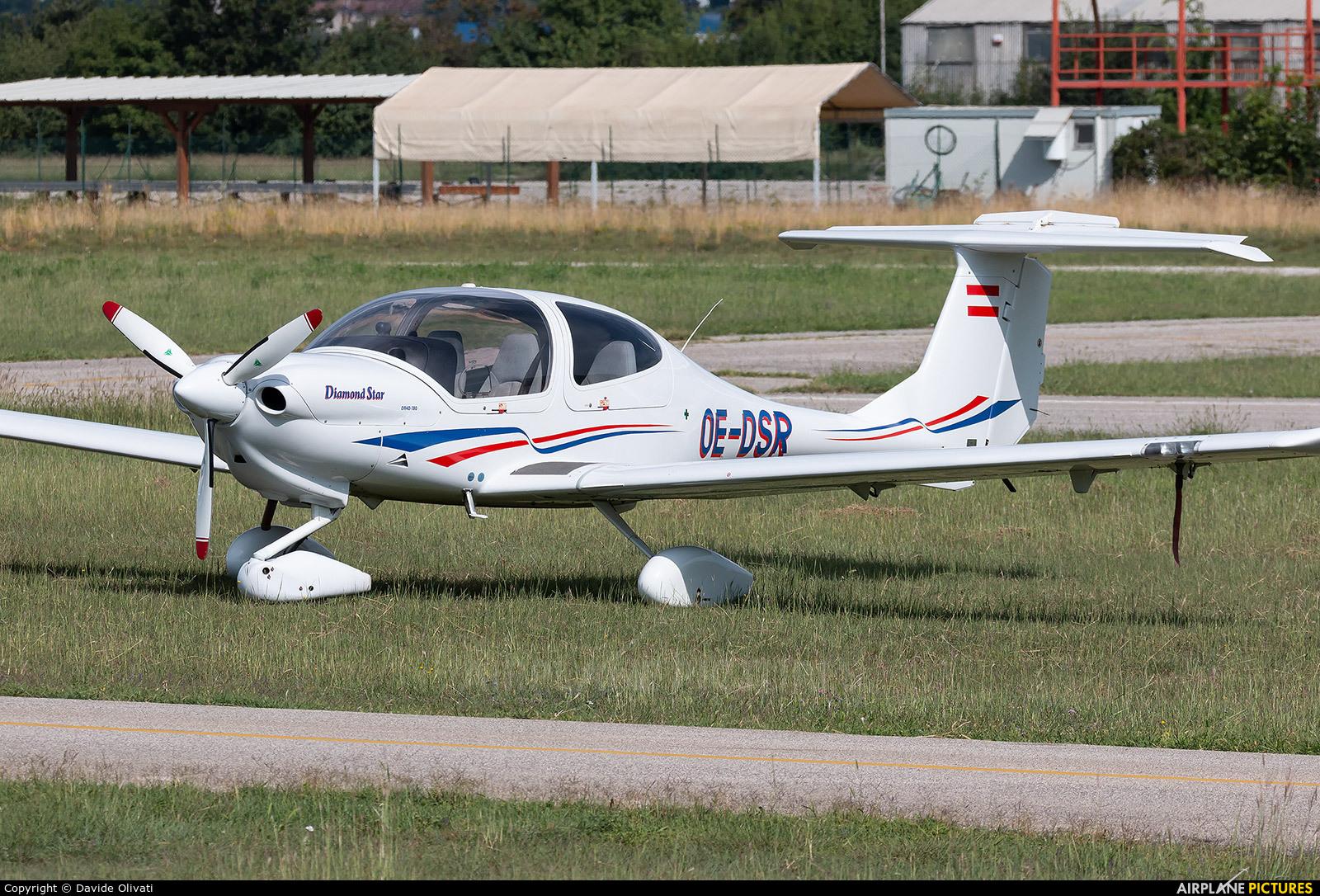 Private OE-DSR aircraft at Verona - Boscomantico