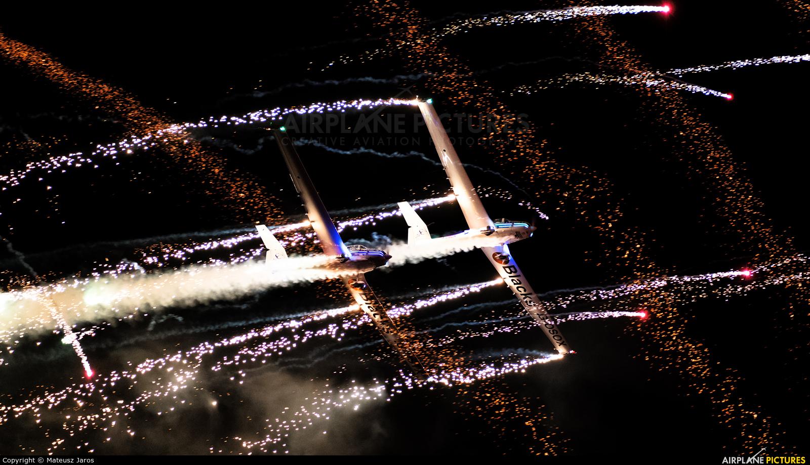 Aerosparx Display Team G-OSOX aircraft at Gdynia