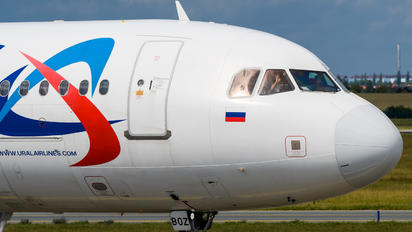 VQ-BOZ - Ural Airlines Airbus A321