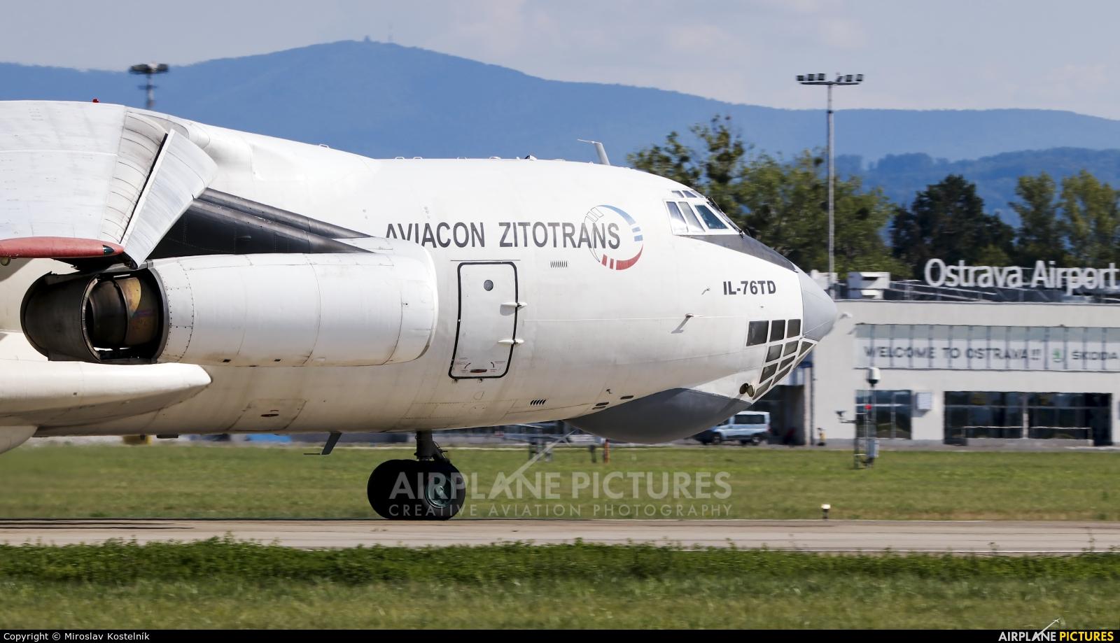 Aviacon Zitotrans RA-76842 aircraft at Ostrava Mošnov