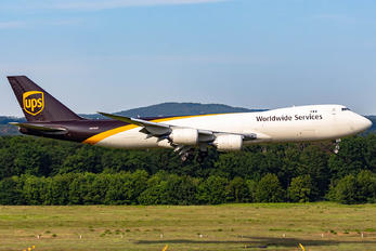 N608UP - UPS - United Parcel Service Boeing 747-8F