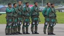 - - Saudi Arabia - Air Force: Saudi Hawks - Airport Overview - People, Pilot aircraft