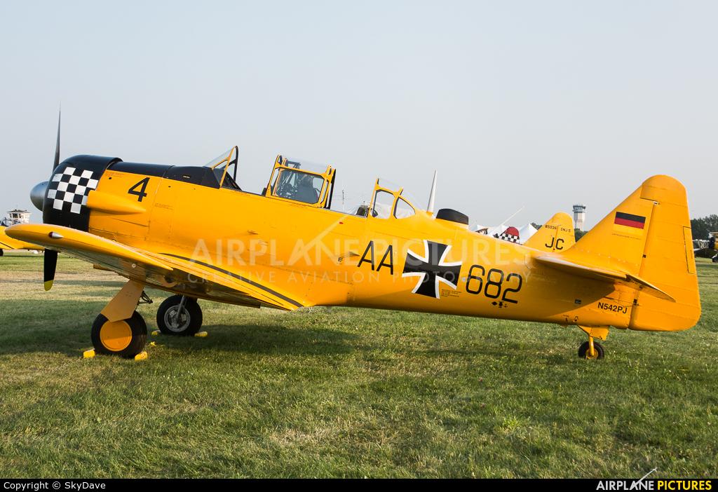 Private N542PJ aircraft at Oshkosh - Wittman Regional