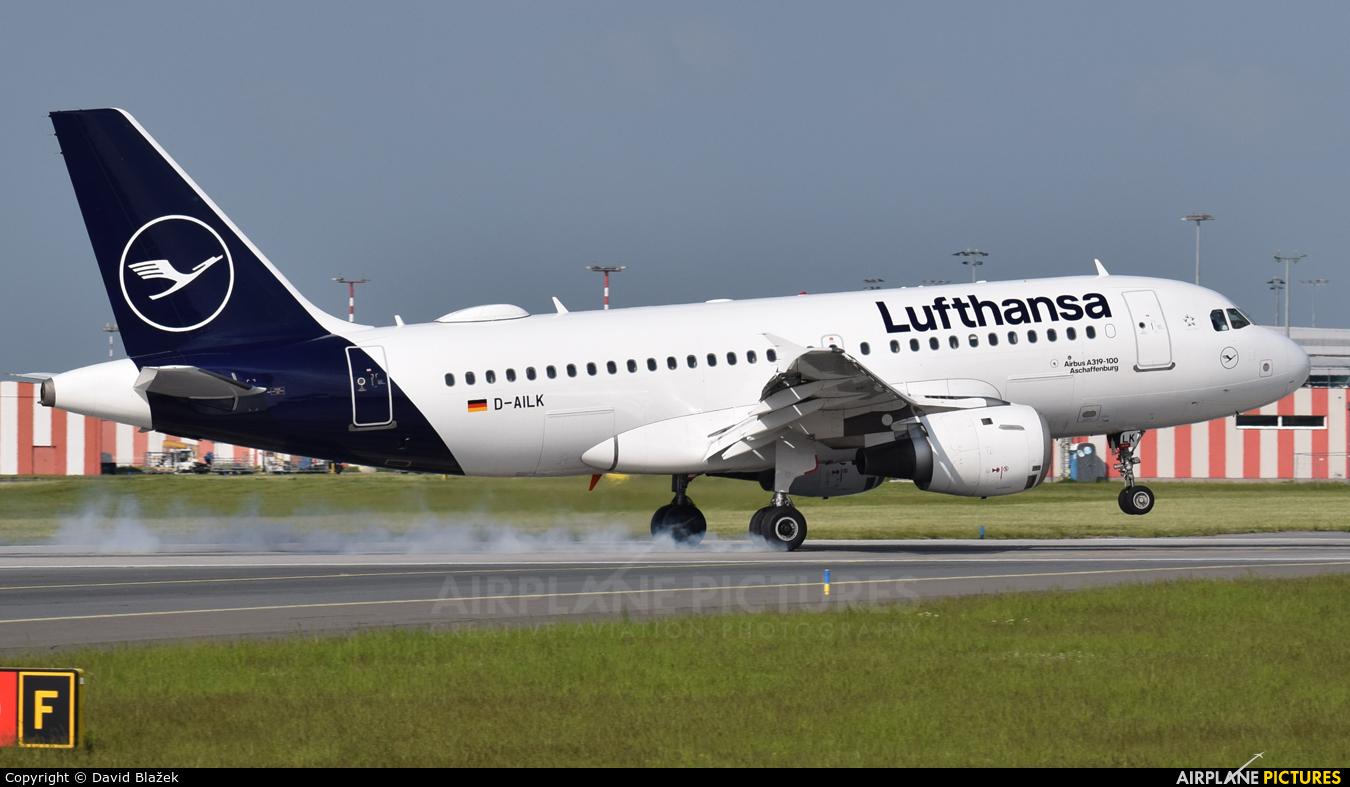 Lufthansa D-AILK aircraft at Prague - Václav Havel
