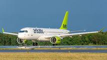 YL-AAQ - Air Baltic Airbus A220-300 aircraft