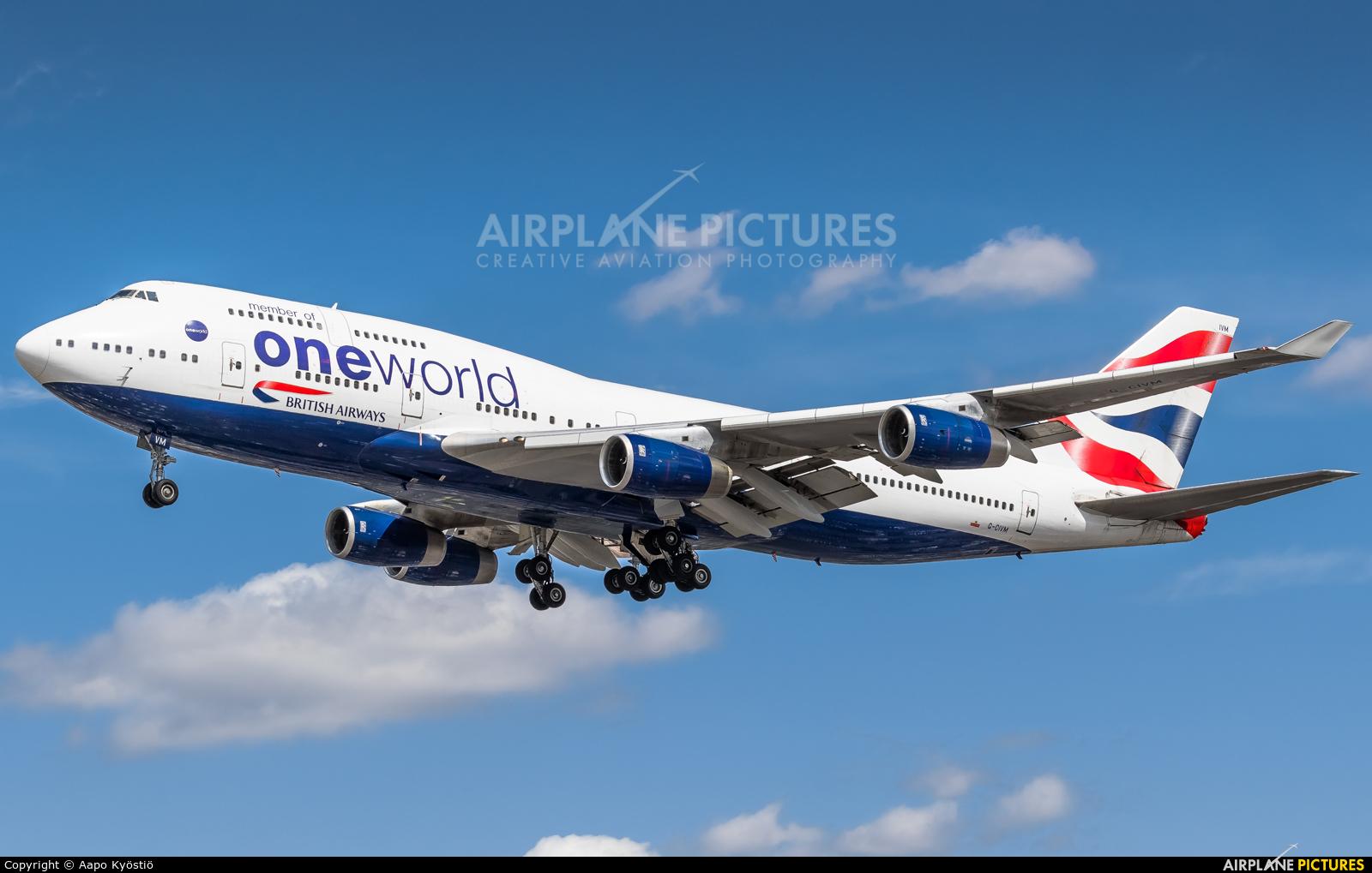 British Airways G-CIVM aircraft at London - Heathrow
