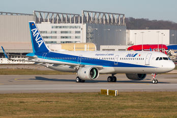 D-AVYK - ANA - All Nippon Airways Airbus A321 NEO