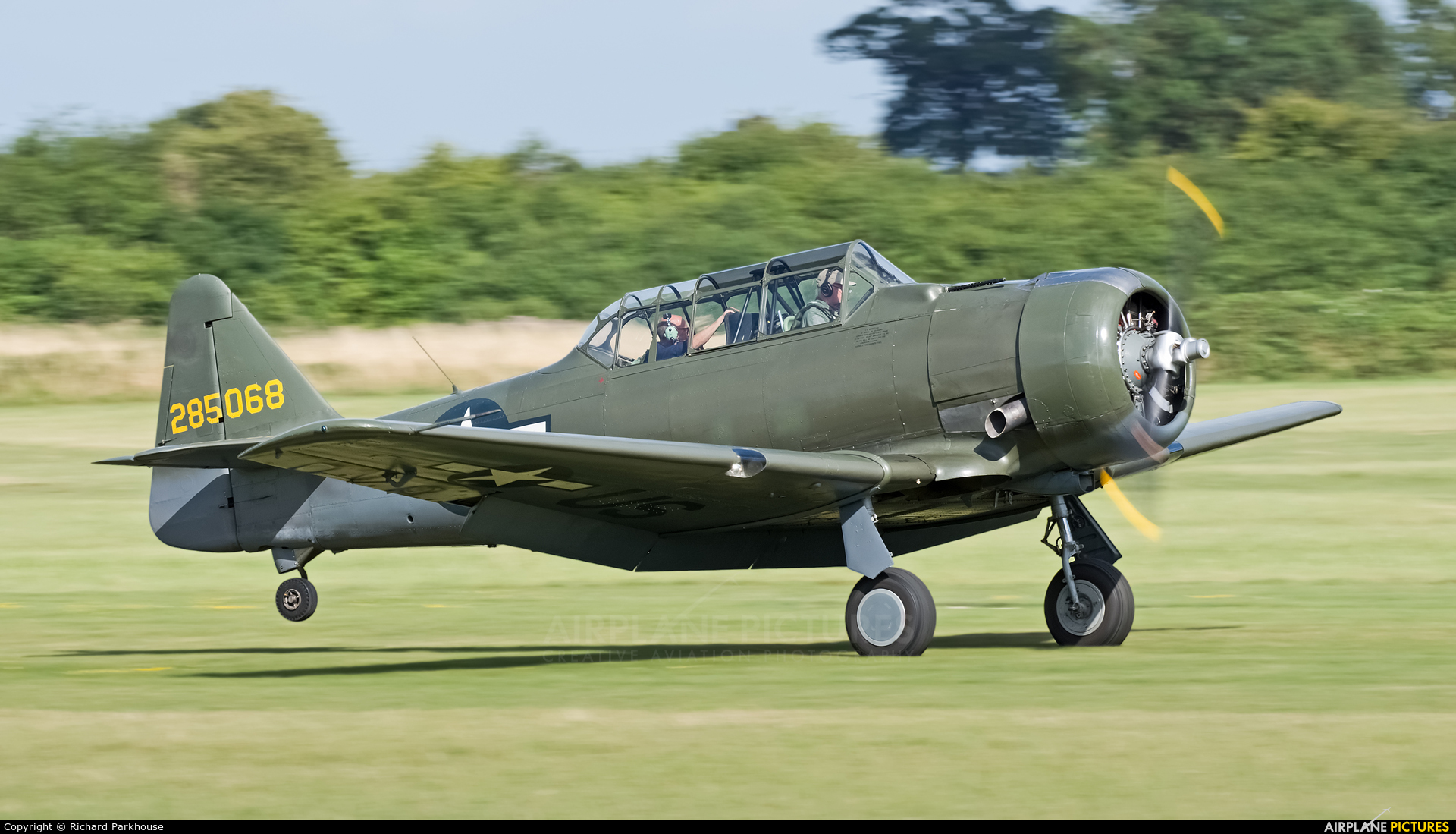 Private G-KAMY aircraft at Old Warden