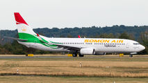 Somon Air Boeing 737 visited Dusseldorf title=