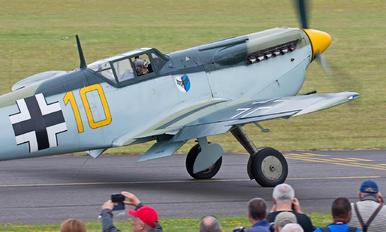 G-AWHK - Aircraft Restoration Co, Hispano Aviación HA-1112 Buchon