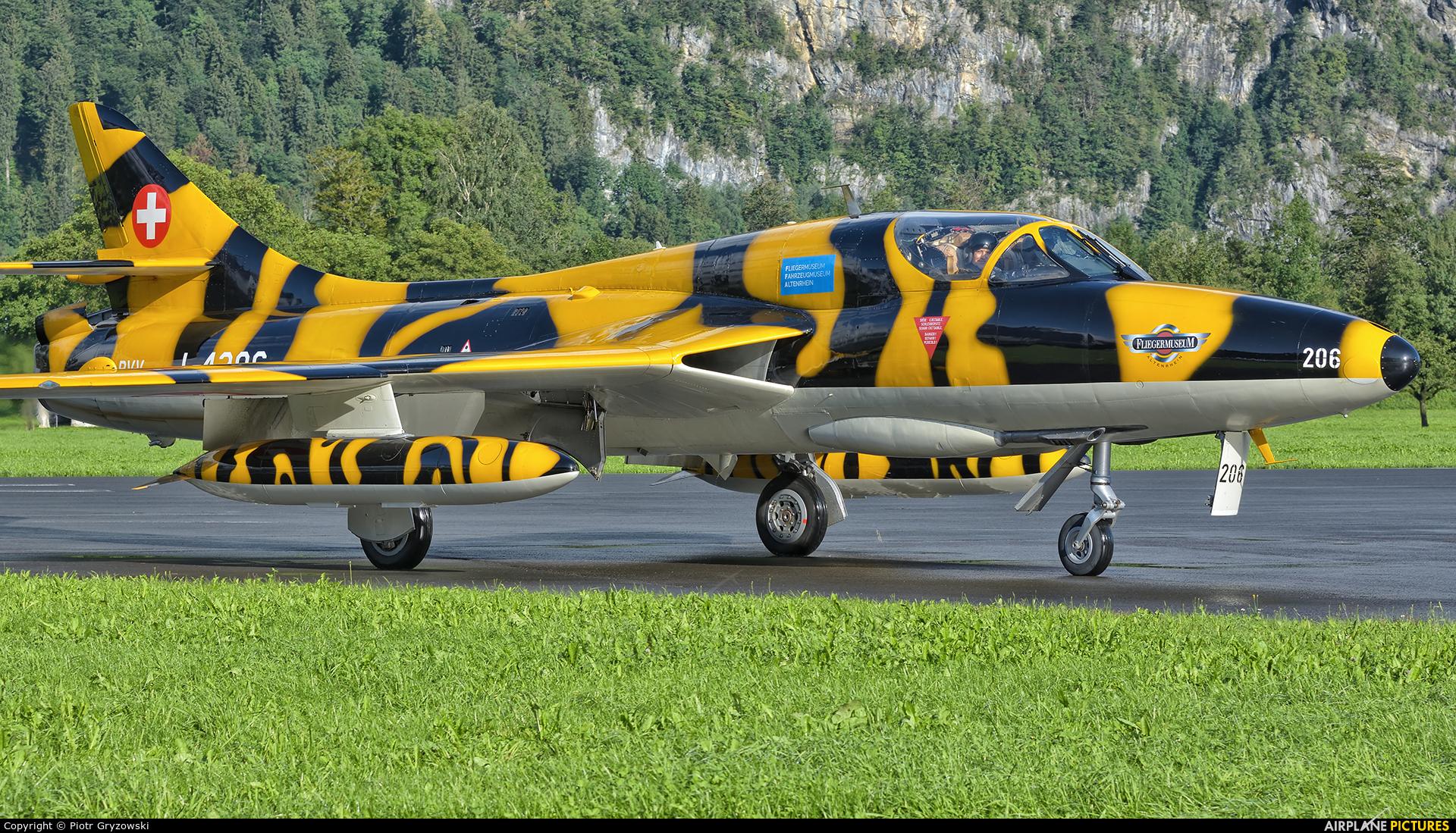 FFA Museum HB-RVV aircraft at Mollis