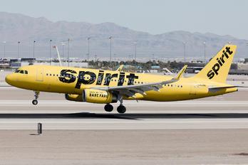 N642NK - Spirit Airlines Airbus A320
