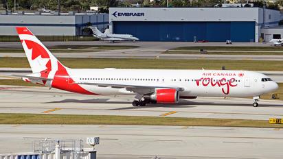 C-FXCA - Air Canada Rouge Boeing 767-300