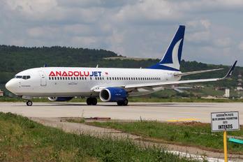 TC-JFT - AnadoluJet Boeing 737-800