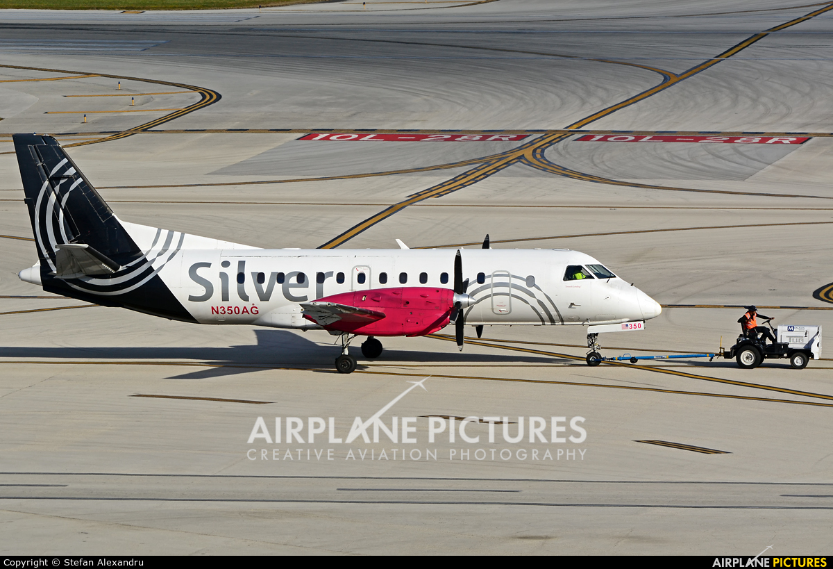 Silver Airways N350AG aircraft at Fort Lauderdale - Hollywood Intl