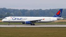 TC-OBY - Onur Air Airbus A321 aircraft