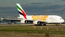 A6-EOB - Emirates Airlines Airbus A380 aircraft