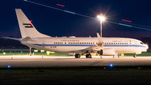 A6-MRM - United Arab Emirates - Government Boeing 737-800 BBJ aircraft