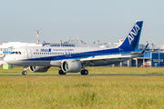 JA215A - ANA - All Nippon Airways Airbus A320 NEO aircraft