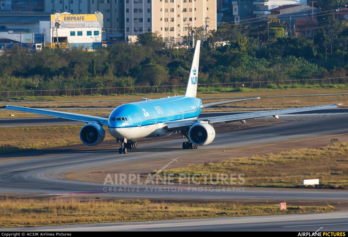 KLM PH-BQG aircraft at São Paulo - Guarulhos