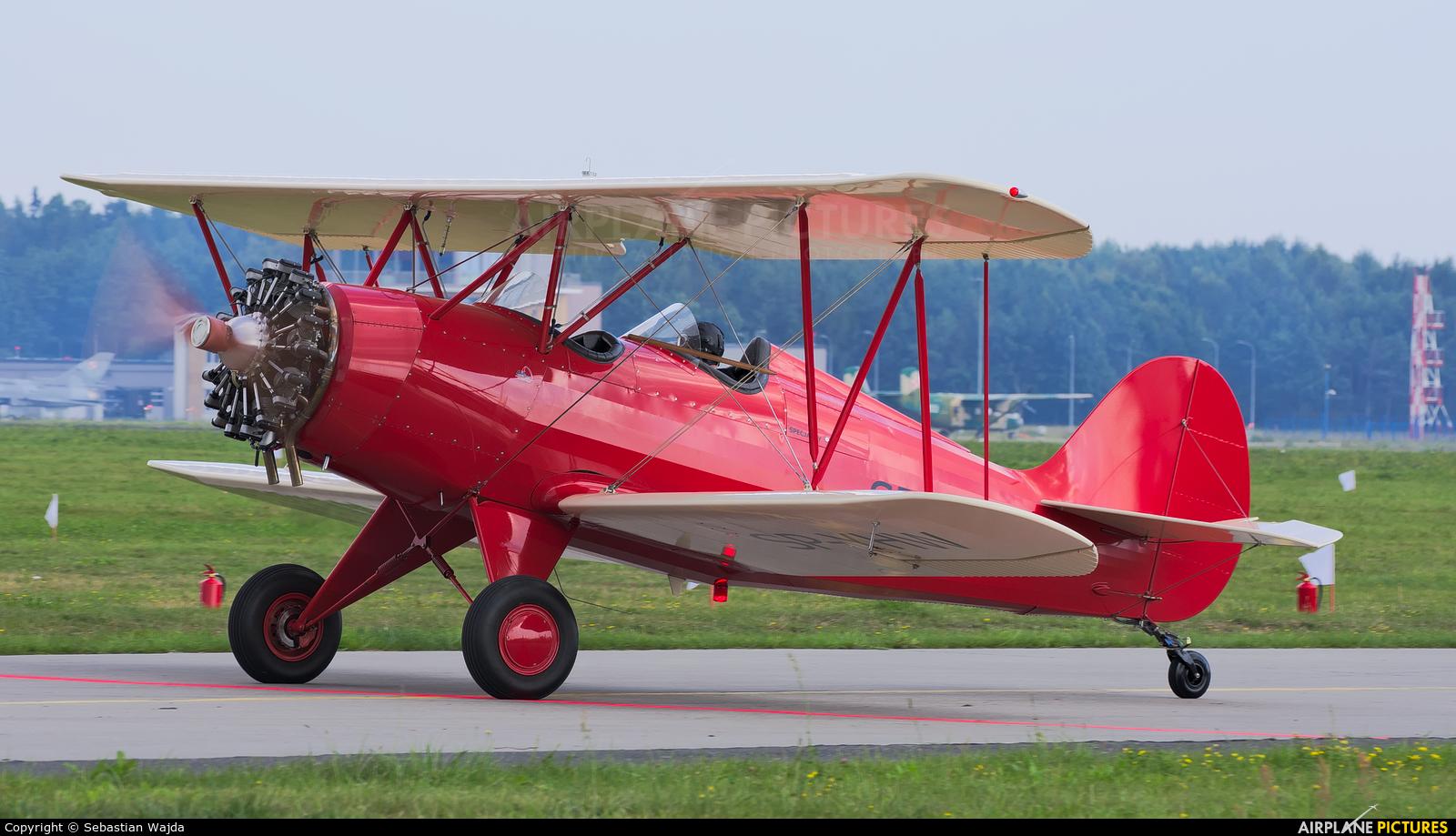 Private SP-YHW aircraft at Gdynia- Babie Doły (Oksywie)