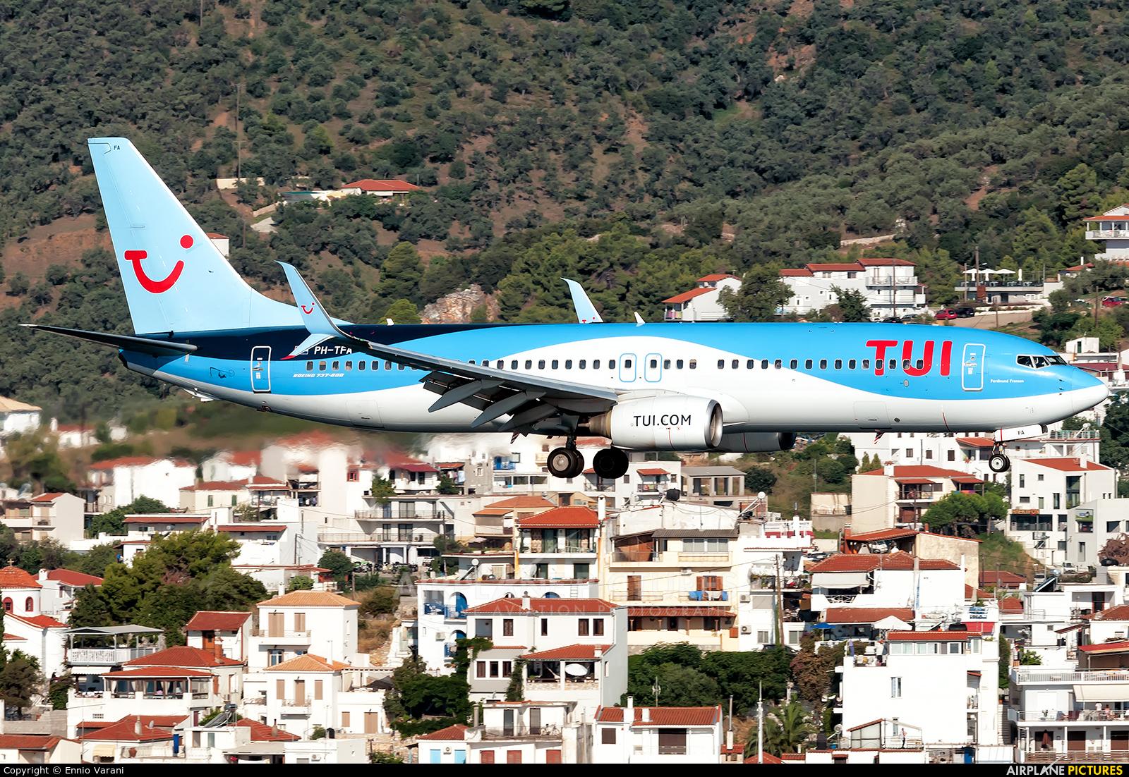TUI Airlines Netherlands PH-TFA aircraft at Skiathos