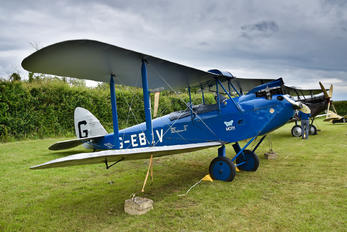 G-EBLV - The Shuttleworth Collection de Havilland DH. 60 Moth