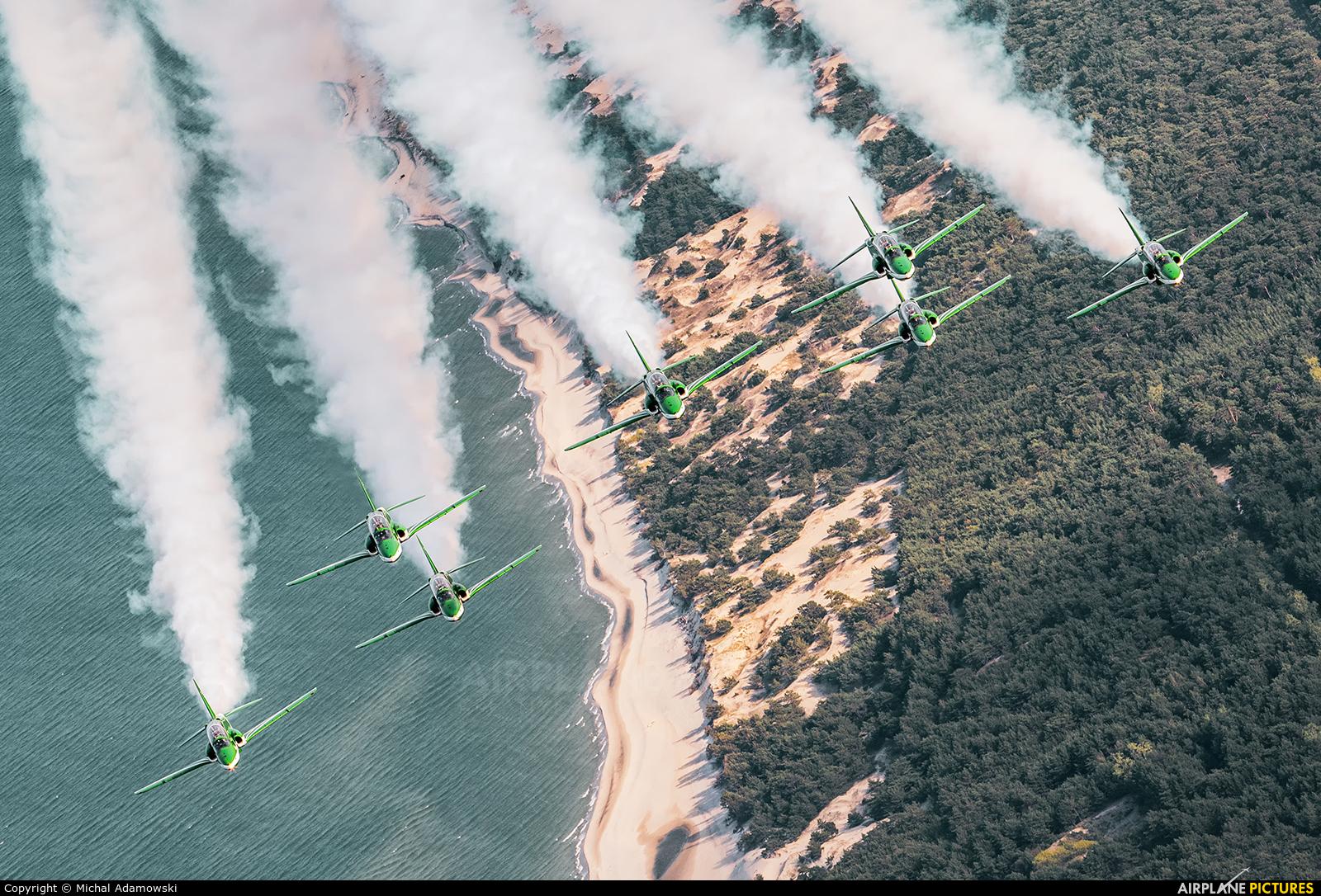 Saudi Arabia - Air Force: Saudi Hawks 8820 aircraft at Gdynia- Babie Doły (Oksywie)
