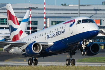 G-LCYF - British Airways - City Flyer Embraer ERJ-170 (170-100)