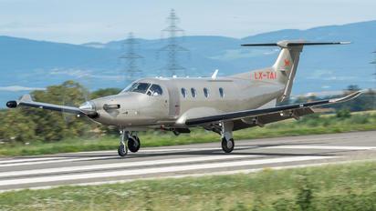 LX-TAI - Unknown Pilatus PC-12