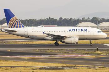 N844UA - United Airlines Airbus A319