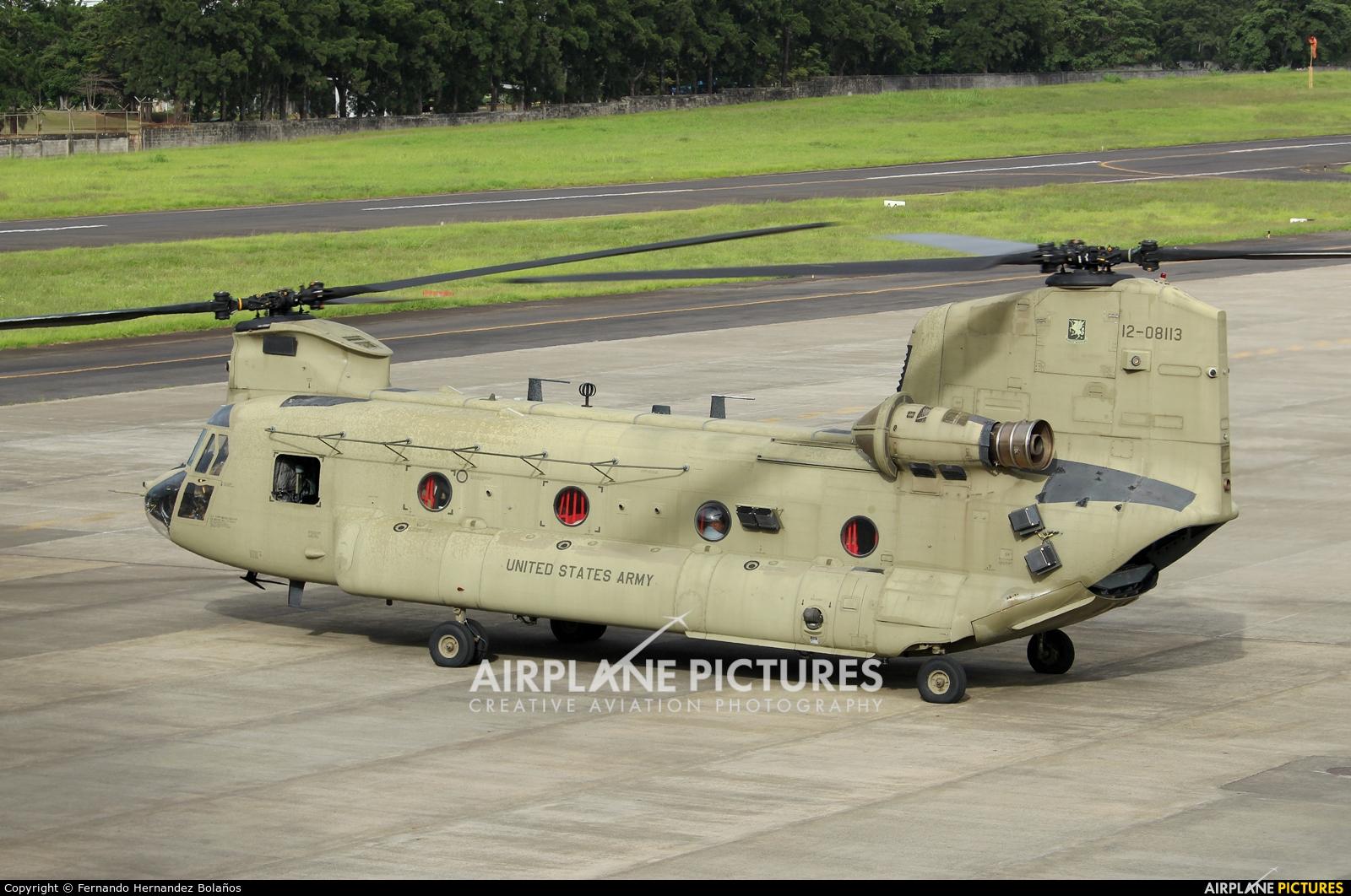 USA - Army 12-08113 aircraft at San Jose - Tobías Bolaños Intl