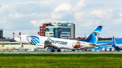 SU-GED - Egyptair Boeing 737-86X(WL)