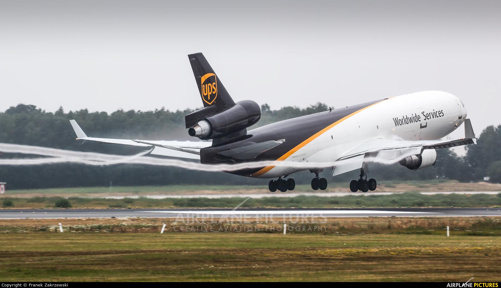 UPS - United Parcel Service N287UP aircraft at Cologne Bonn - Konrad Adenauer