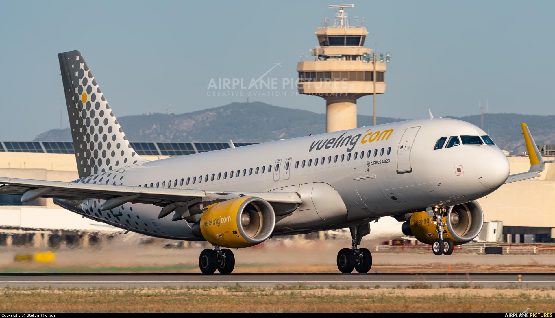 Vueling Airlines EC-MAH aircraft at Palma de Mallorca
