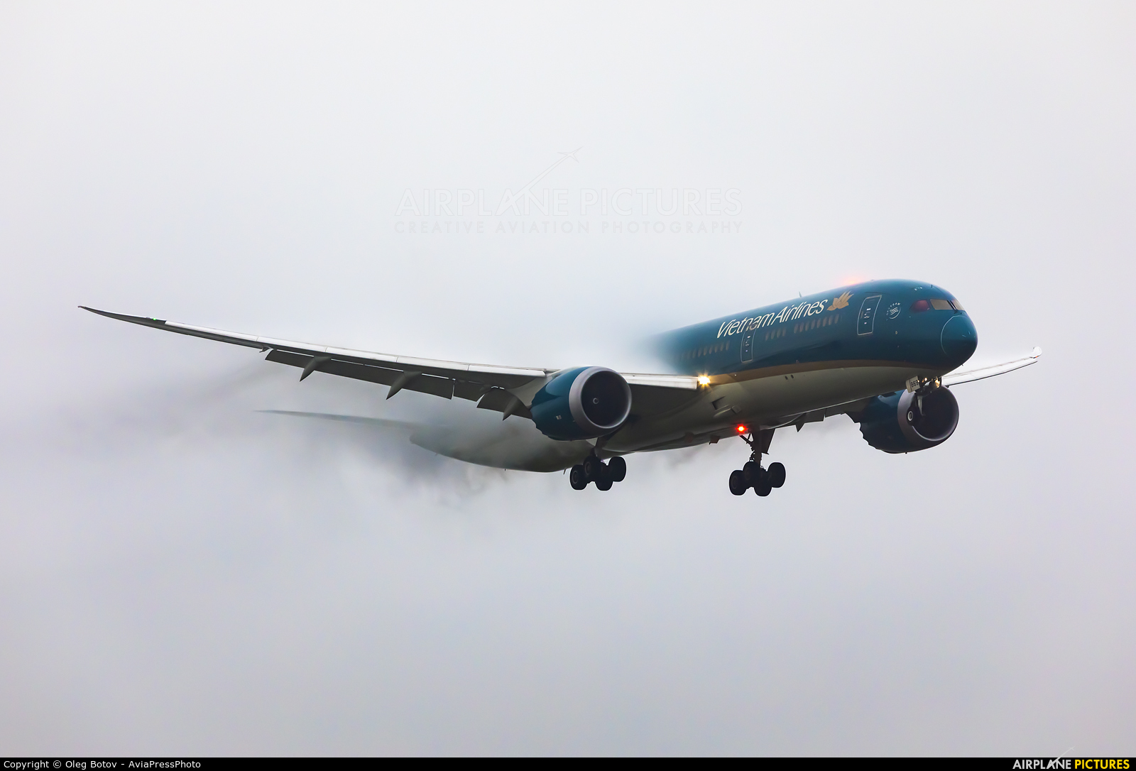 Vietnam Airlines VN-A869 aircraft at Moscow - Sheremetyevo