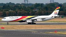 Air Belgium Airbus A340 visited Dusseldorf title=